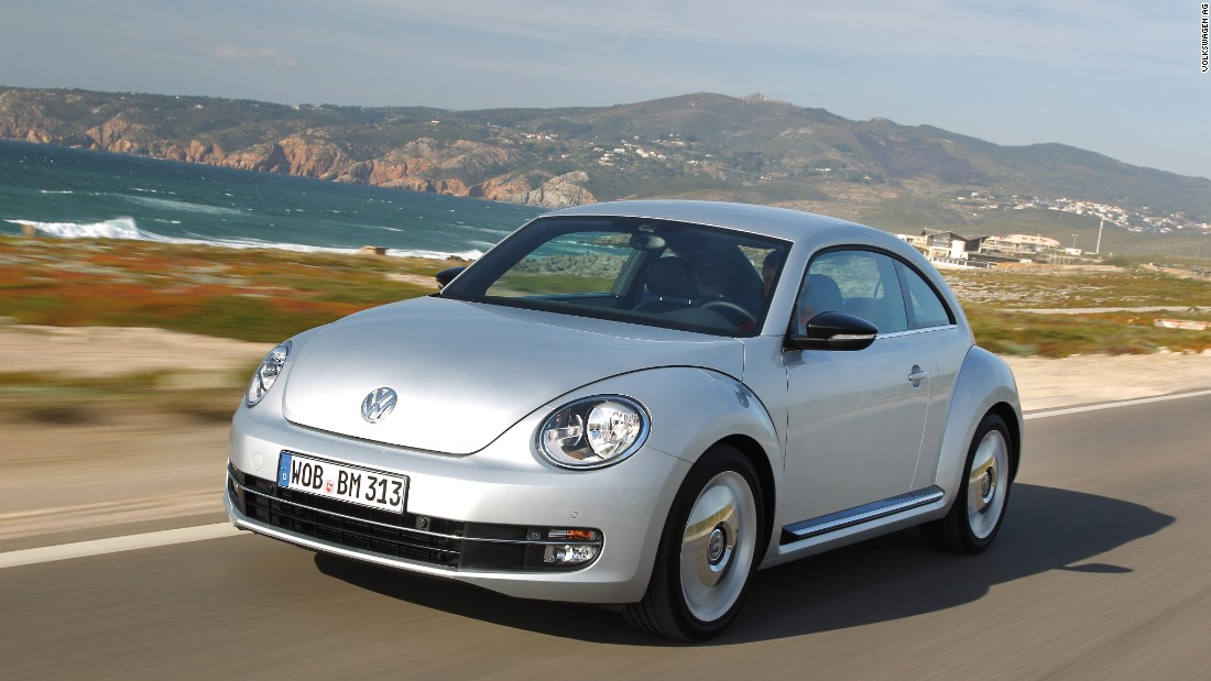 The 'new Beetle' was launched in 1997. It uses many of the original car's styling cues, but is designed as a fashionable alternative to a regular hatchback instead of basic family transport.