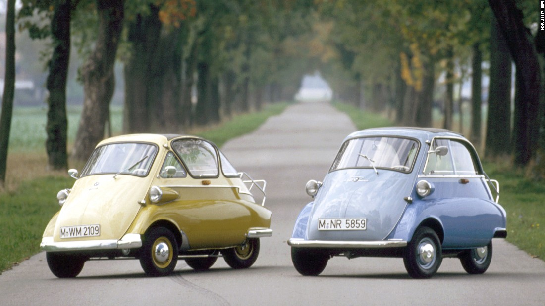 The BMW Isetta was a world removed from the Bavarian manufacturer's premium saloons. The firm produced more than 160,000 examples of the tiny microcar between 1955 and 1962.