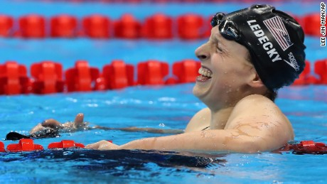 Rio 2016 Day 7: Ledecky crushes rivals; Phelps ties for silver