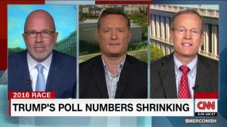 Can Trump overcome his sinking poll numbers? _00005111
