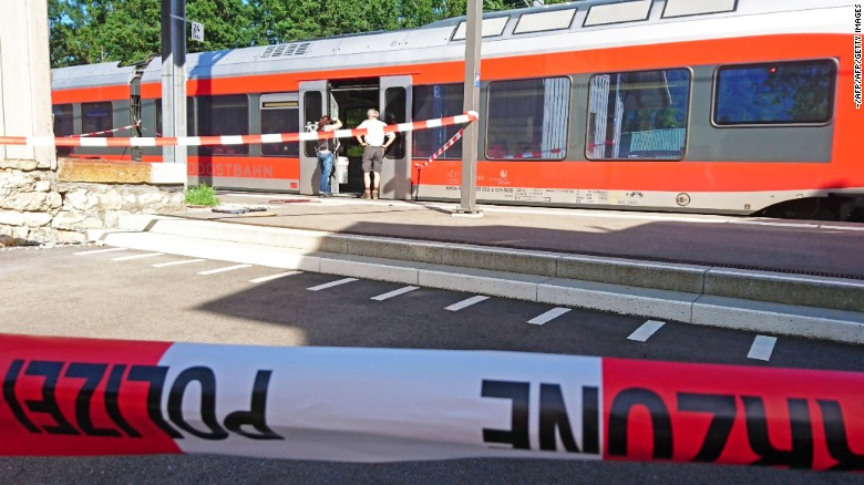 Six people hurt in a Swiss train attack