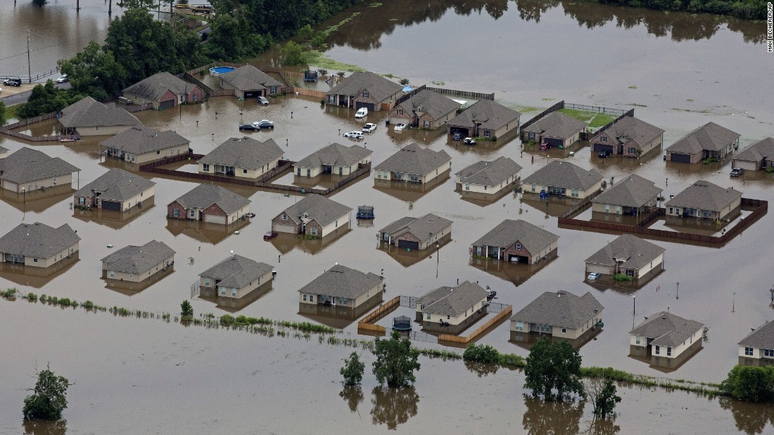 Louisiana Flood Worst Us Disaster Since Hurricane Sandy Red Cross Says Cnn