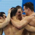 us men's 4x100 meter medley 0813