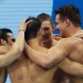 us men's 4x100 meter medley 0813
