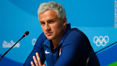 Ryan Lochte wears  (Shirt )