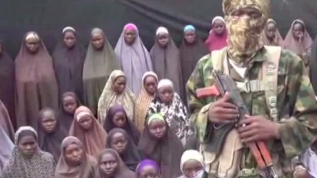 New Boko Haram video of missing girls Busari Looklive_00011430