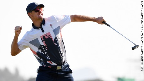 Olympic golf: Britain's Justin Rose takes gold in Rio
