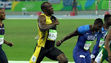 Usain Bolt wins historic 3rd straight 100m gold