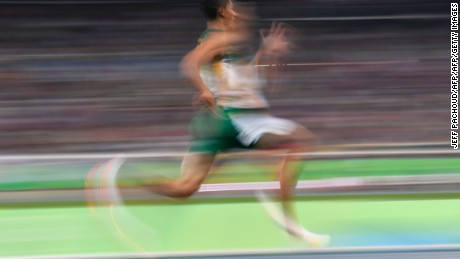 Van Niekerk led from start to finish in the men's 400m Olympic final.