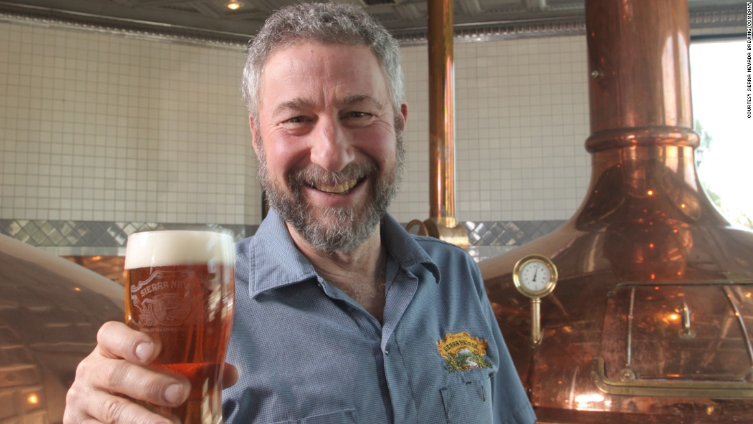 Cole credits Ken Grossman, CEO of Sierra Nevada Brewing Company, with pioneering the craft beer revolution in North America.