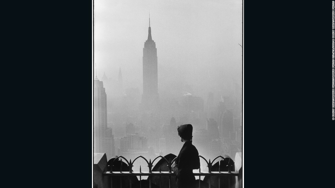 Empire State Building by Elliott Erwitt
