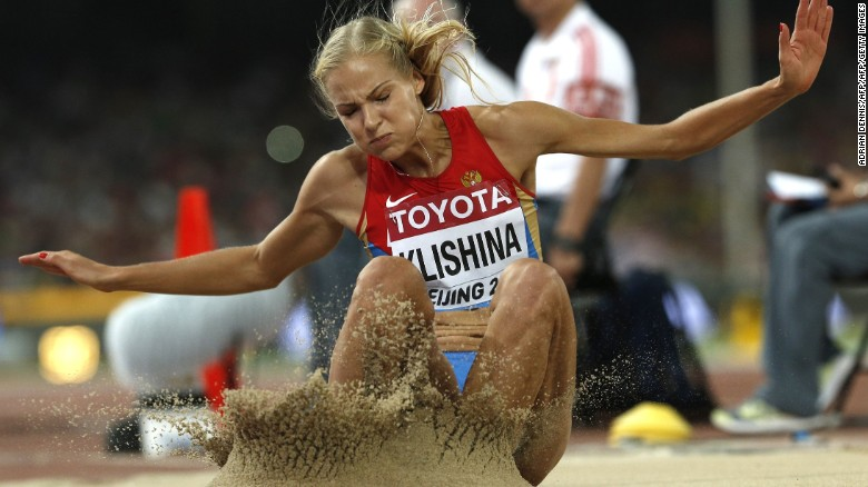 Lone Russian long jumper suspended from Rio games