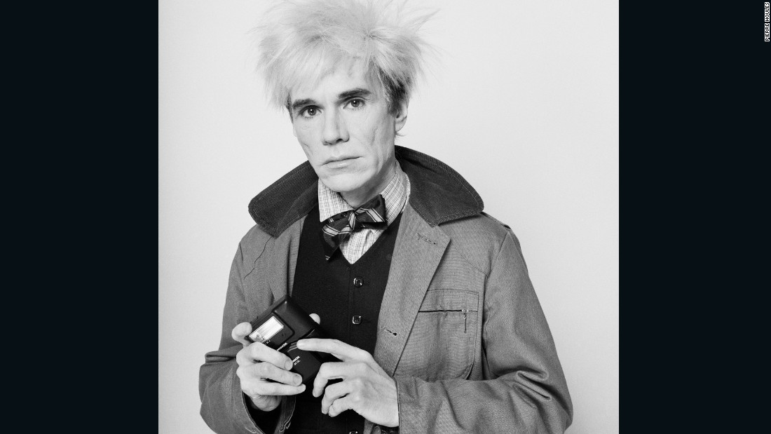 Andy Warhol by Pierre Houles