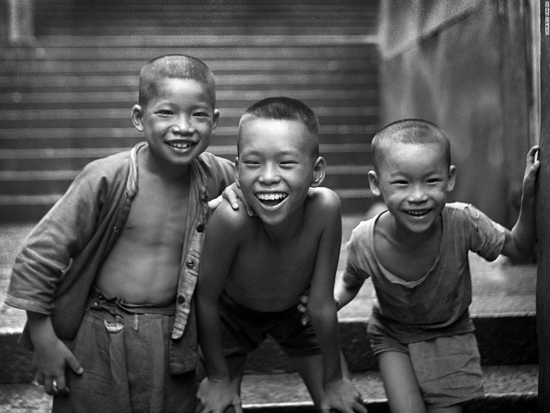 A legendary master of Hong Kong street photography, Fan Ho passed away earlier this year but dedicated a set of previously unseen images to this exhibition. In these light-filled shots of 1960s Hong Kong, Ho interprets children playing on the streets as a precious kind of familial relationship.