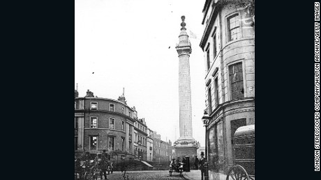 The London Monument to the Great Fire of London