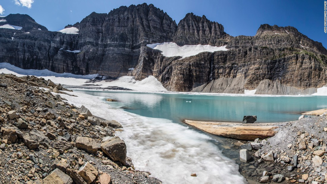 """While going through the weight loss and doing all the work necessary, I always had one thing in mind: I wanted to hike in Glacier National Park, and especially to the Grinnell Glacier,"" he told CNN."