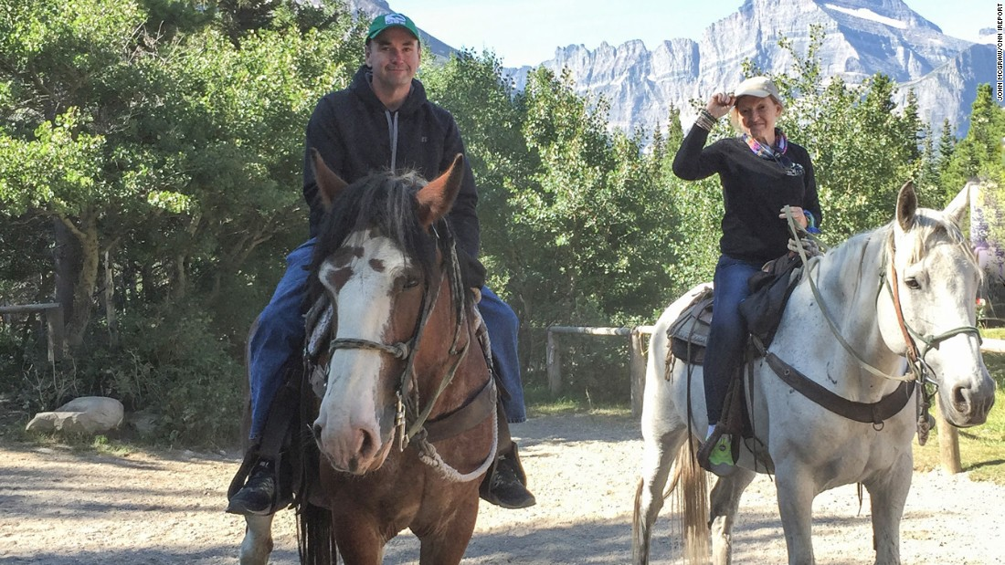 "Beyond the first-time hiking trip, it was also the first time McGraw was able to go horseback riding. He always had to say ""no"" to the activity because there was a 250-pound weight limit."
