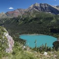 Grinnell Lake above