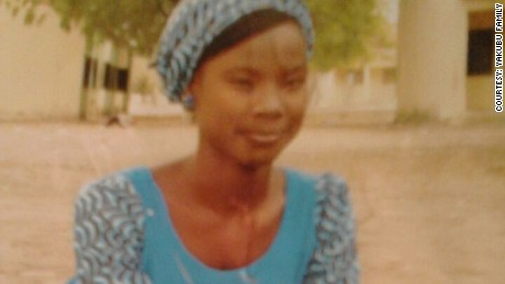 Maida Yakubu was kidnapped from her school in Chibok, Nigeria, by Boko Haram militants.
