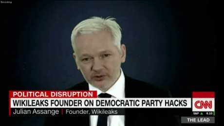 Wikileaks founder on DNC hack