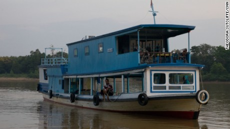Houseboats are the best way to experience Borneo's Mahakam River.