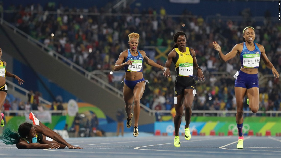 Felix now has seven Olympic medals in her career. Jamaica's Shericka Jackson finished third.