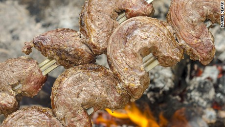 Most visitors to Brazil get their barbecue fix at a churrascaria.