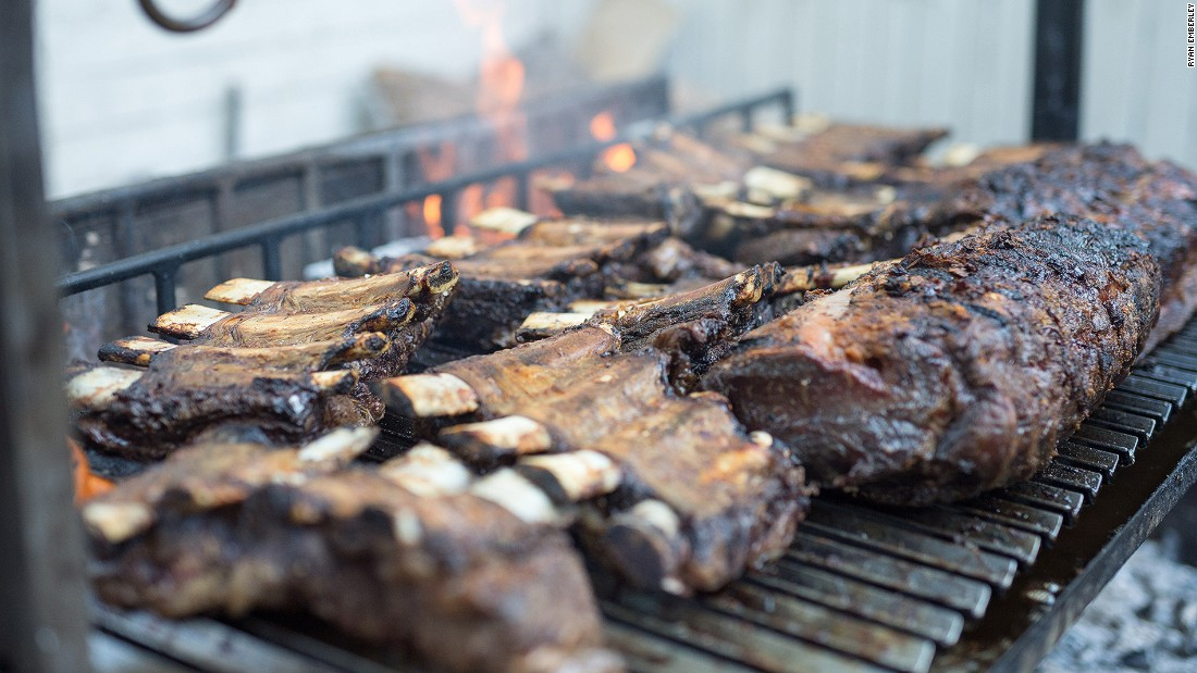 American-style backyard barbecues might be the most familiar, but plenty of other places love mixing meat and flames. Argentina is one of the world's most passionate barbecue nations. Many people attend sociable, gut-busting asados (barbecues) on an almost weekly basis. Photo: Ryan Emberley/Graffigna Wines.