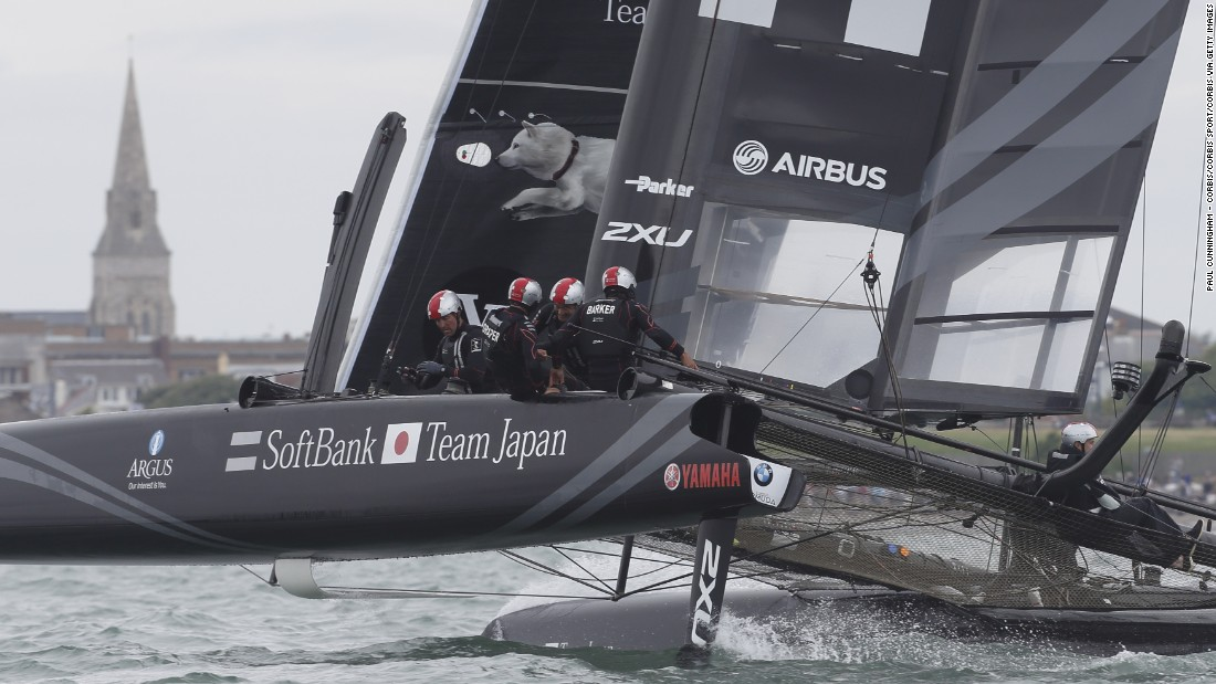 SoftBank Team Japan is the island nation's first flagged challenger since 2000.<br />