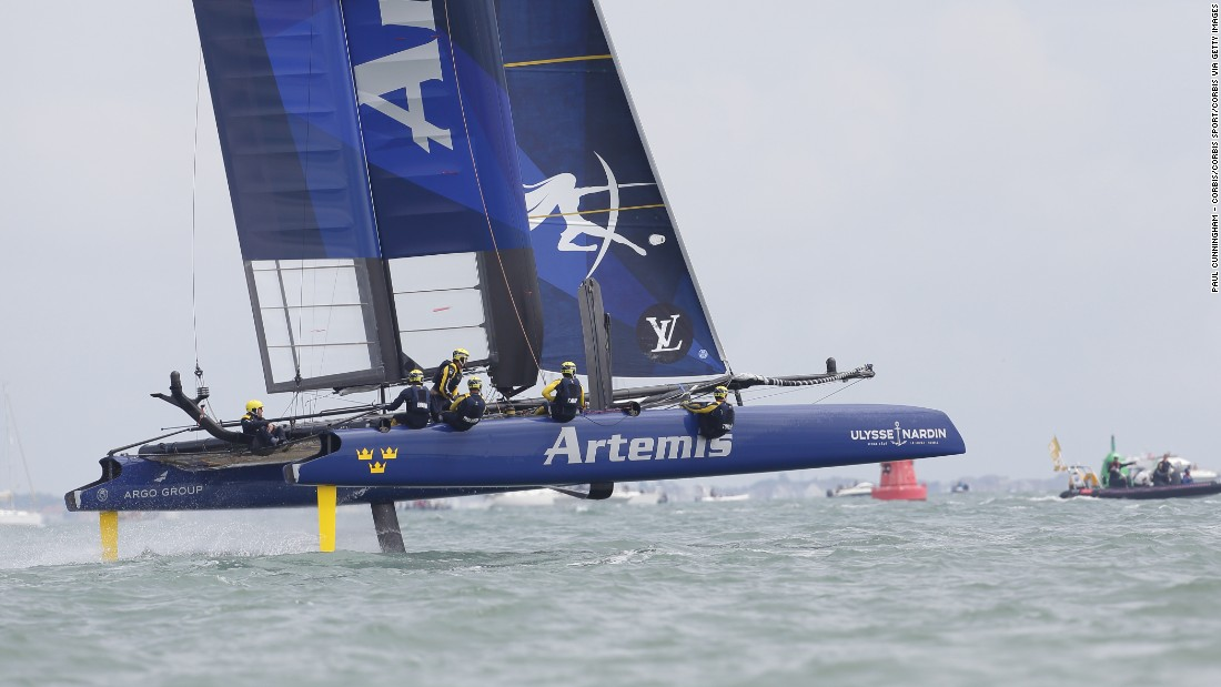 "Sweden's Artemis Racing team will be hoping to improve on its 2013 effort, when it failed to get past the challenger series. <a href=""http://cnn.com/2016/09/11/sport/americas-cup-toulon-artemis-ainslie/index.html"" target=""_blank"">Artemis won September's leg of the World Series in Toulon.</a>"