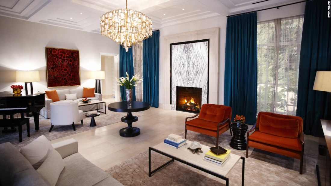 The Hotel Bel-Air in Los Angeles is a glamorous Mission-style retreat for those wanting privacy -- and the 6,775-square-foot Presidential Suite compound delivers.