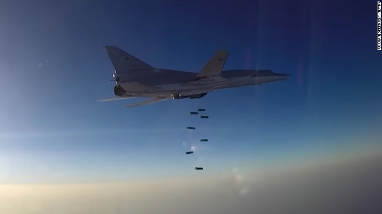 Russia uses base in Iran to launch strikes in Syria