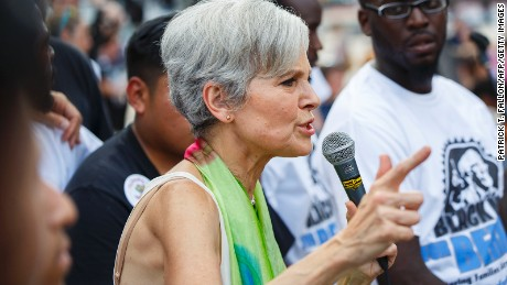 Stein charged with mischief, trespassing after environmental protest
