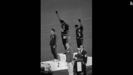 Tommie Smith reflects on winning gold, iconic salute nearly 50 years later