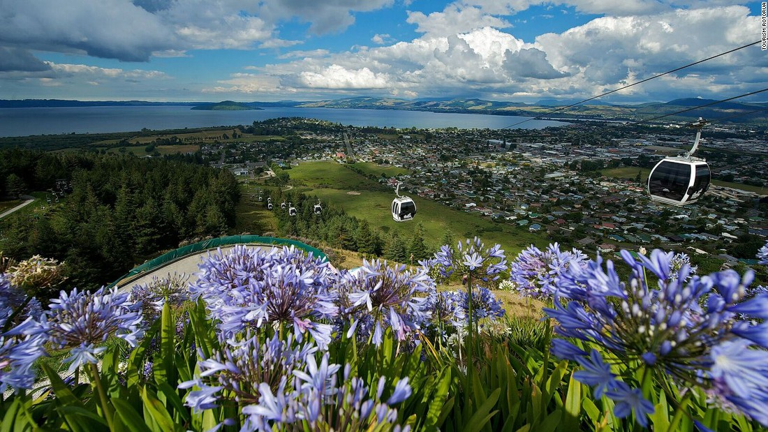 Rotorua, a town on New Zealand's North Island, offers everything from stunning landscapes to extreme adventure.