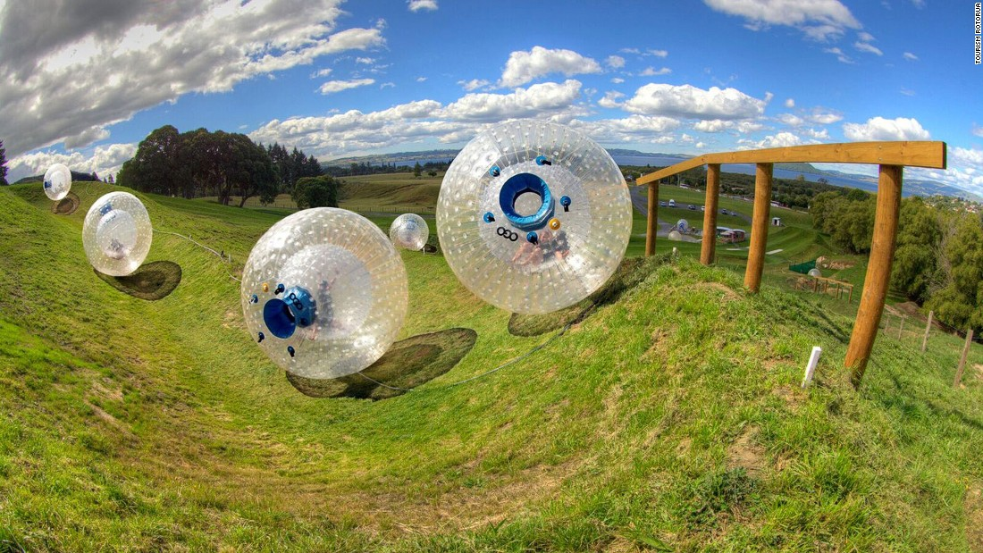 Zorbing -- rolling downhill while protected inside a giant plastic ... Fastest Speedboat In The World