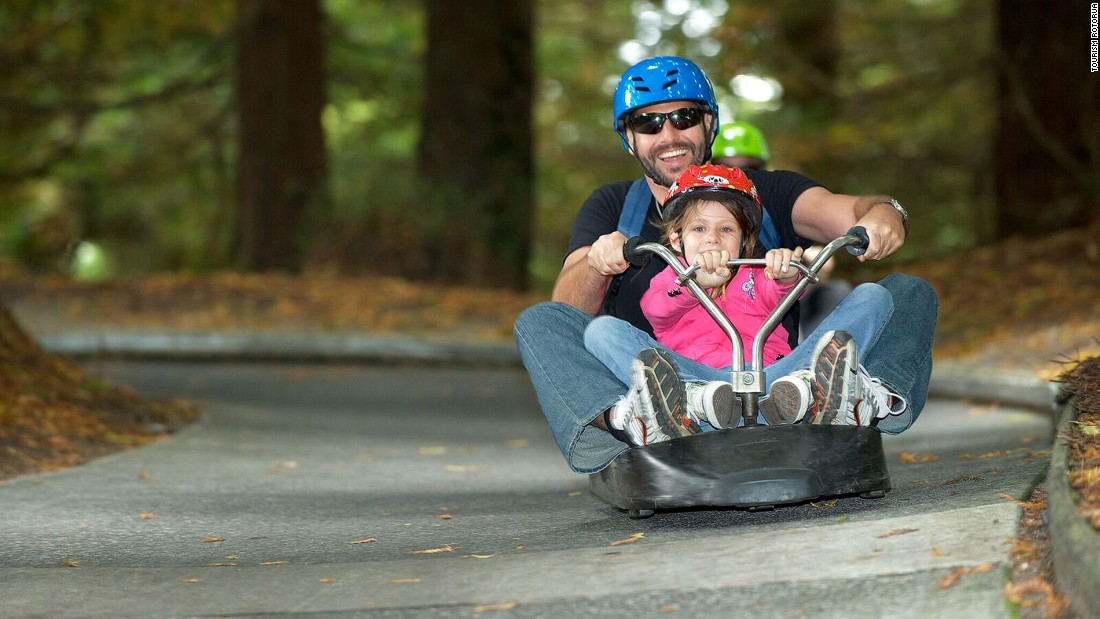 The Luge at Skyline Rotorua opened 31 years ago. Since then, luges have swooshed down the hill more than 18 million times. That's more than four rides for every Kiwi.