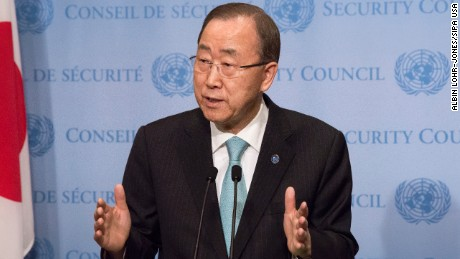 United Nations Secretary-General Ban Ki-moon in August ordered an investigation into events in Juba.