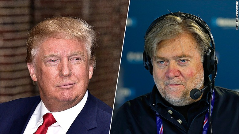 Trump distancing himself from Steve Bannon