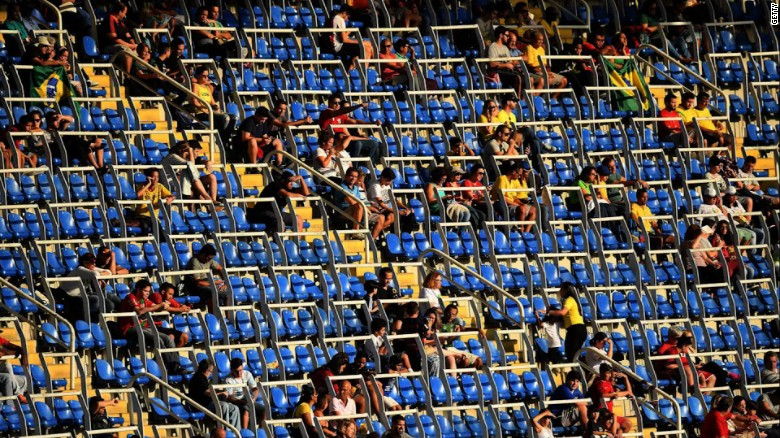 Rio Olympics 2016: Why all the empty seats?