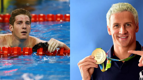 James Feigen, left, and Ryan Lochte are among the four swimmers reportedly robbed in Rio de Janeiro.