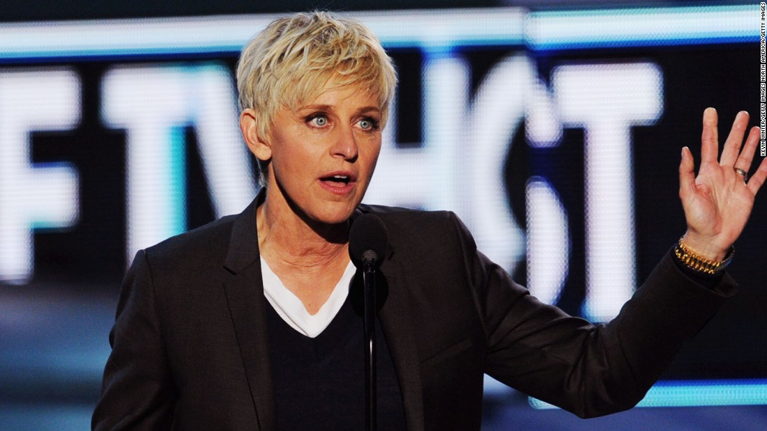 "Ellen DeGeneres is currently best known as one of the best -- and nicest! -- things to happen to daytime TV in a very long while. But before she was holding down a talk show Oprah-style, DeGeneres was a stand-up star who took her approachable comedy to TV with the sitcom ""Ellen"" in the mid-90s. It was during her tenure on that show that DeGeneres made history, coming out as a lesbian in real life as well as in her sitcom."