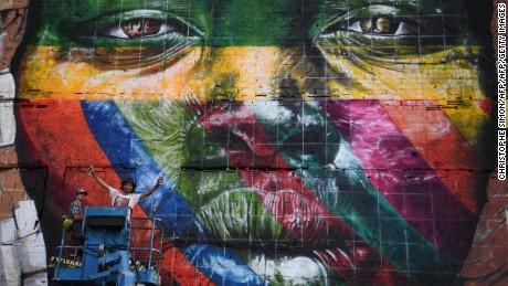 Rio de Janeiro's walls come alive