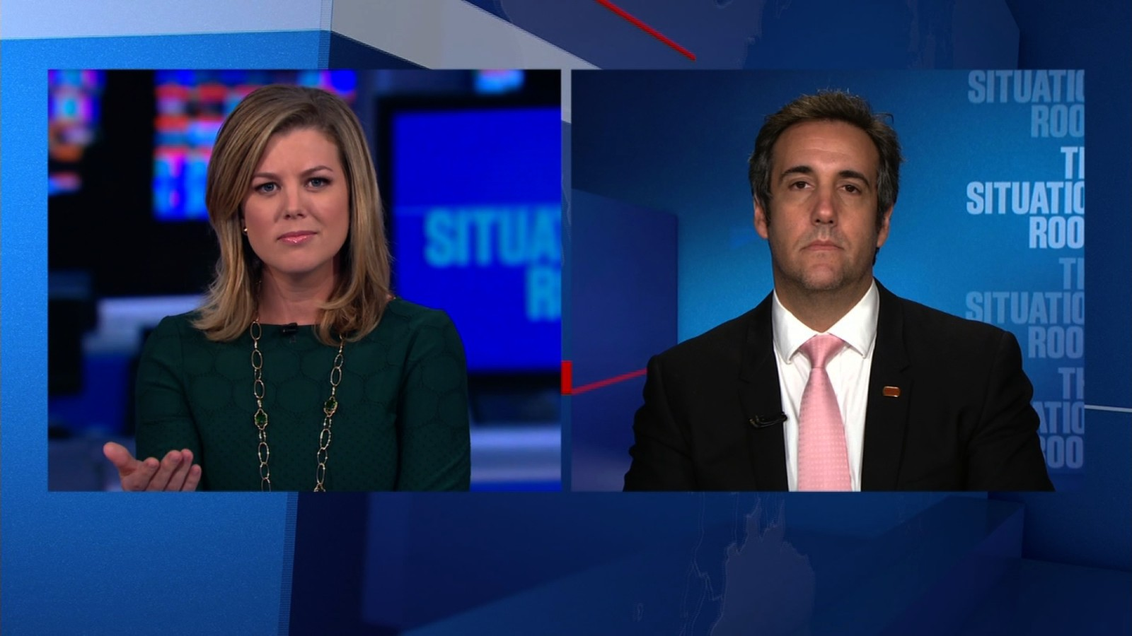 Michael Cohen Denies Trump Campaign Shake Up . Cnn Situation Room Live  Stream ... Part 12