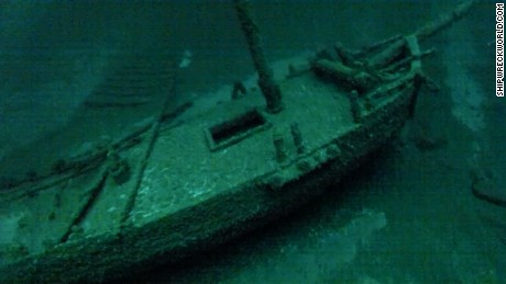 Rare shipwreck discovered