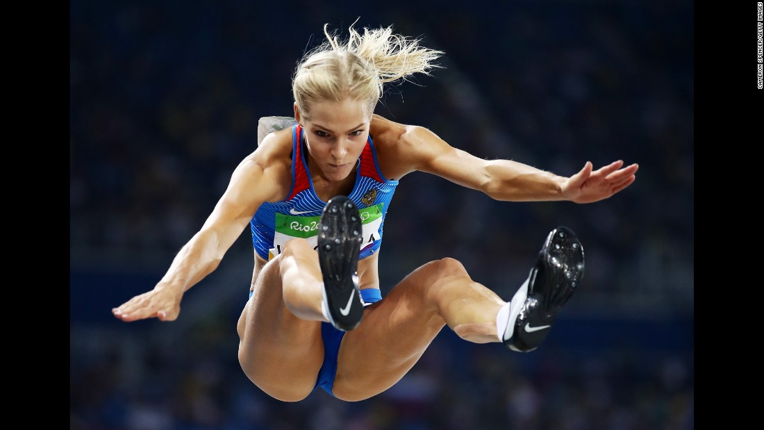 "Darya Klishina -- <a href=""http://www.cnn.com/2016/08/16/sport/darya-klishina-russia-rio-2016/"" target=""_blank"">the only Russian track-and-field athlete allowed to compete in Rio</a> -- finished ninth in the long jump."