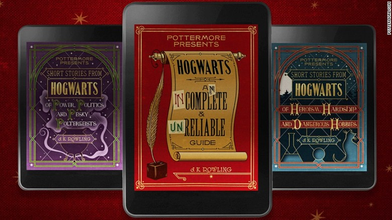 3 new Harry Potter books announced