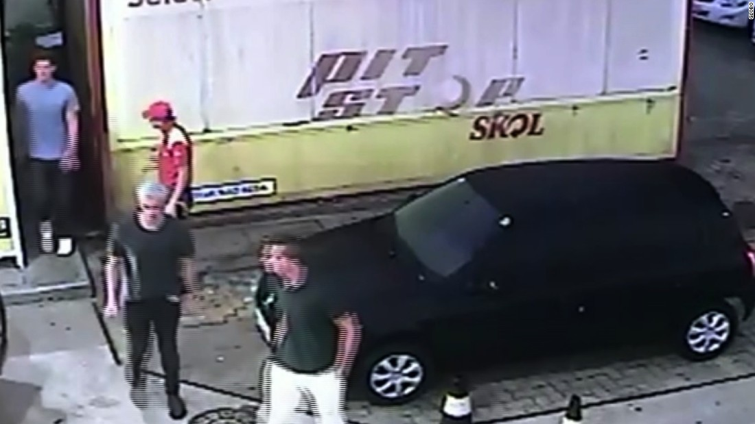 "<strong>August 14:</strong> Brazil's Globo media group released surveillance footage that shows US swimmers Ryan Lochte, James Feigen, Jack Conger and Gunnar Bentz at a gas station in Rio de Janeiro. The Olympians initially said they were robbed at gunpoint there by men in police uniforms. Brazilian police <a href=""http://www.cnn.com/2016/08/18/sport/us-swimmers-olympics-robbery-questions/index.html"" target=""_blank"">said the athletes concocted a story</a> to cover up an act of vandalism that led to a confrontation with security guards."