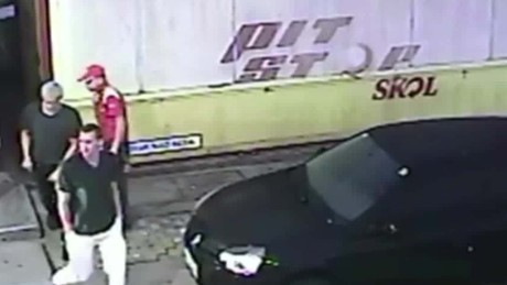 Video shows US swimmers at gas station