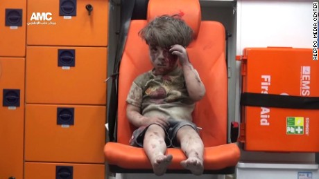Images of Omran and Alan reveal so much of Syrian horror
